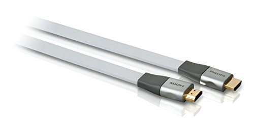 Philips HDMI Verbindungskabel, Flachbandkabel 1,5m Philips Digital-tv-tuner
