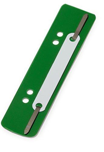 Durable Fastener Flexi 690105 - Sujeciones para encuadernar, verde, pack con 250 unidades