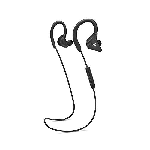LEOPHILE IMPULSE Sport Écouteurs Bluetooth sans fil résistant à la transpiration casque stéréo aptX Écouteurs intra-auriculaires 7 heures de temps à jouer pour salle de sport Course à Pied - No