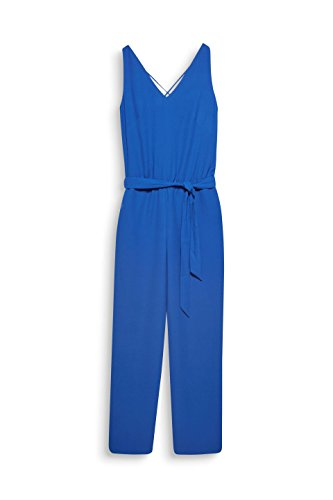 ESPRIT Collection Damen Jumpsuit 068EO1L002, Blau (Bright Blue 410), 38 - 3
