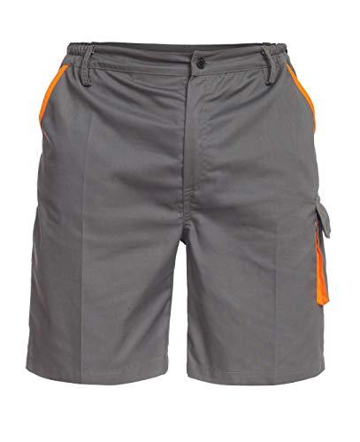 Sigma Pantalones de Trabajo Cortos/Bermudas para Hombre - para Verano - Gris - 3XL