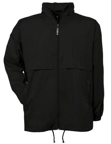 B&C Collection JU801 Mens Air Lightweight Jacket Black - black