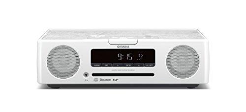 Yamaha TSX-B235D Sistema Audio per Desktop di Design con Pannello Superiore in Legno, Bianco
