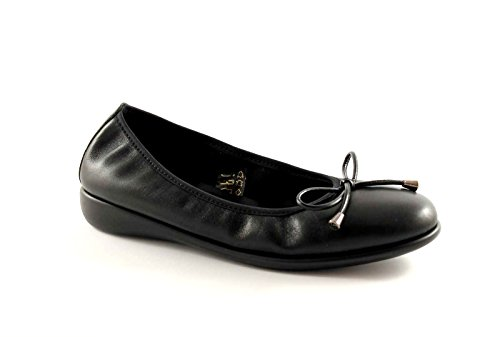 GRUNLAND AGRI SC1231 nero scarpe donna ballerine decolletè 39