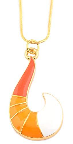 Mesky Cat Noir Halskette Ladybug Miraculous Necklace Anhänger für Damen und Mädchen aus Zinklegierung Weihnachten Geschenk Cosplay Kostüm Zubehör Gelb (Damen Cat Kostüme)