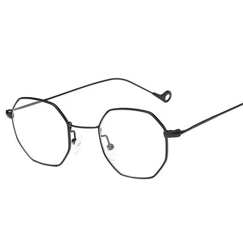 Sommer Brille FORH Unisex Mode Polarisierte Katzenaugen Sonnenbrille Klassische Unregelmäßige Rahmen Gläser Outdoor Sportarten Schutz Brille UV-Schutz Fahrbrille (Weiß)