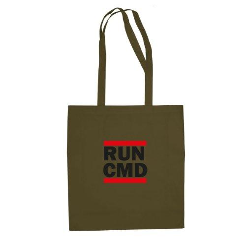 RUN CMD - Stofftasche / Beutel Oliv