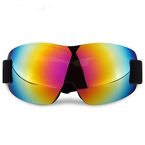 Skibrille, Sportbrille Winter, 100% UV, Gute Luftdurchlässigkeit Und Für Junge Erwachsene Geeignet Zum Skifahren, Snowboarden, Motorschlittenfahren Und Motorradfahren,e