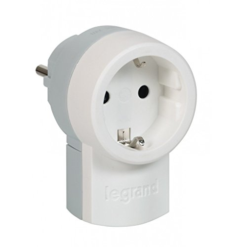 Legrand 879184 050462 (3 Stück Stecker mit integrierter Steckdose)