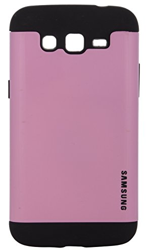iCandy Super Glossy Hybrid Hard PC + Soft Rubber Back Cover for Samsung Galaxy Grand 2 S7106 - PINK  available at amazon for Rs.99