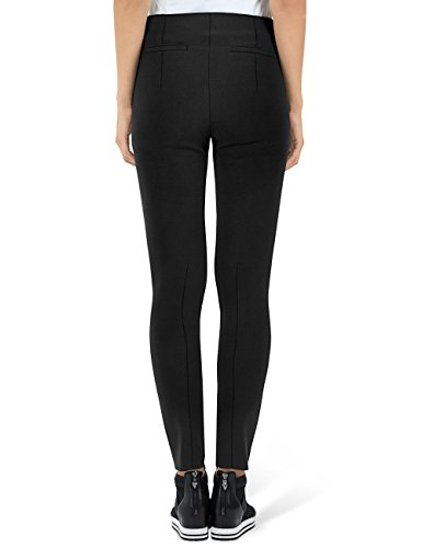 Marc Cain Collections Damen Hose GC 81.38 W16 Schwarz (Black 900)