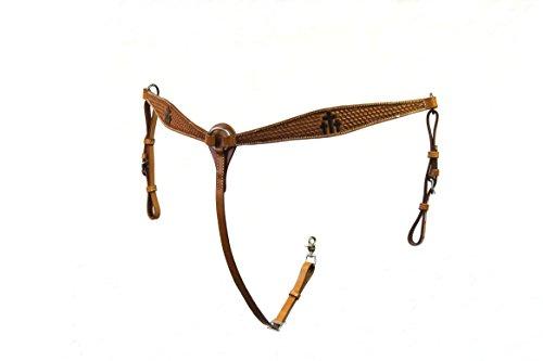 Die Colorado Saddlery 7–5103lt Trinity Kreuz Brust Kragen (Kreuz Brust-kragen)