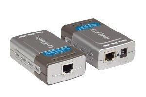 D-Link DWL-P200 - Power injector + PoE splitter - AC 100-240 V
