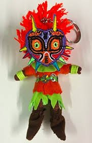 Skull Kid mit Maiora 's Mask Voodoo Saite Puppe