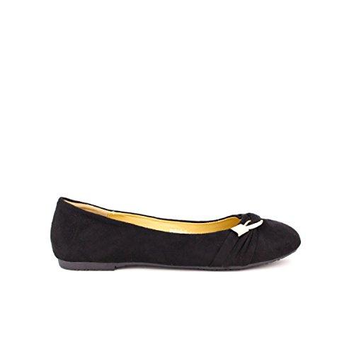 Cendriyon, Ballerine Noire DOLISE Mode Chaussures Femme Noir