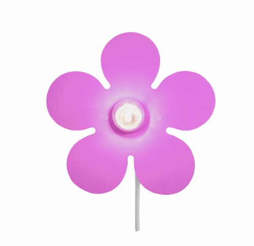 Niermann Standby Wandleuchte Happy-Flower, rosa 325