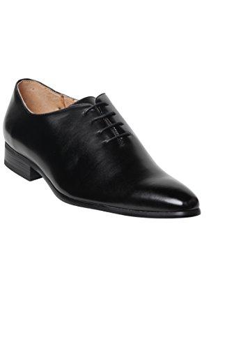 chaussure pointu noire pour homme Noir