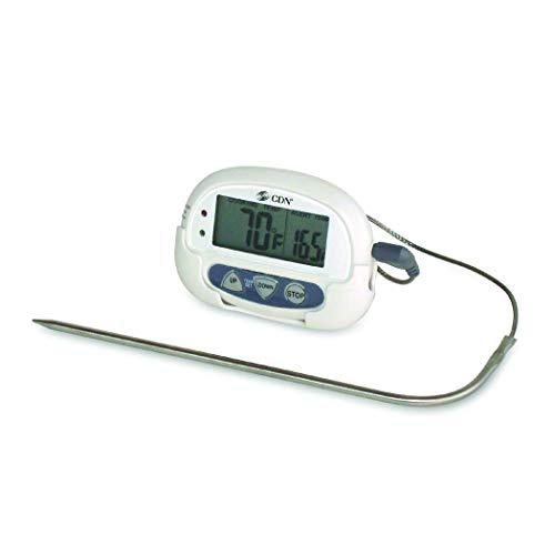 CDN Koch-Thermometer, 0 bis +250°C, weiß -