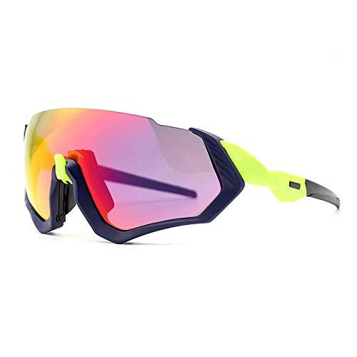 fennd Neue Sportsonnenbrille Outdoor UV-Brille Polarisator für Reiten mit großem Rahmen