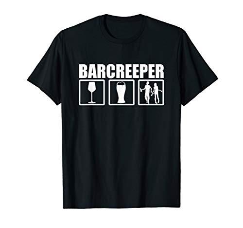 Kostüm Halloween Barkeeper - Barkeeper Halloween Kostüm T-Shirt