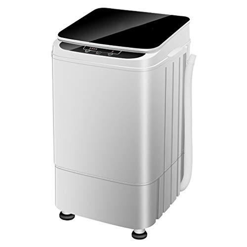 Mini Waschmaschine Vollautomatische Kleine Tragbare Waschmaschine 4.5KG/9.9Lbs Waschende KapazitäT Einzelne Wanne Mit Abflusskorb Und Kleinem Antibakteriellem Pulsator
