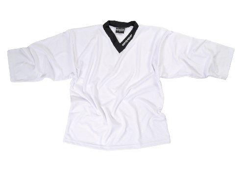 Sherwood Trainingstrikot Sher-Wood Practice Jersey - Camiseta de hockey sobre hielo para hombre, color blanco, talla 2XL