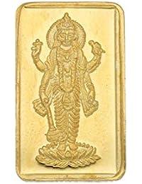 Sri jagdamaba Pearls 2 gm, 24KT Yellow Gold Coin