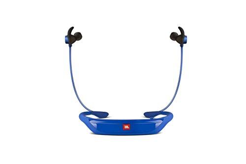 Image of JBL Reflect Response Drahtlose Bluetooth Sport-Kopfhörer mit Berührungssteuerung und Mikrofon Schweißabweisend Ergonomisch mit Reflektivem Kabel Kompatibel mit Apple iOS und Android Geräten - Blau