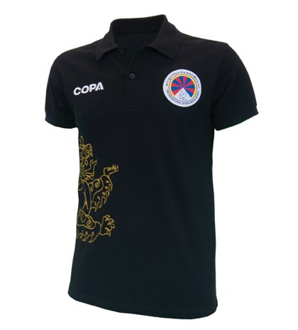 2011-12 Tibet Copa Polo Shirt (Black)