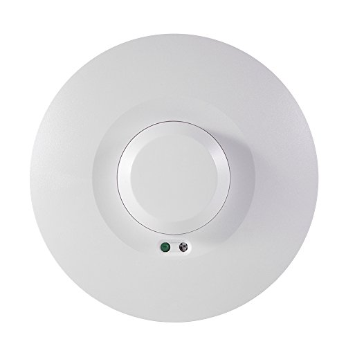 XCSOURCE® Decke Mikrowelle PIR Körper Bewegung Sensor Anwesenheit Präsenzmelder Licht Auto Ein/Aus Schalter HS802 (Led-belegungs-sensor-licht)