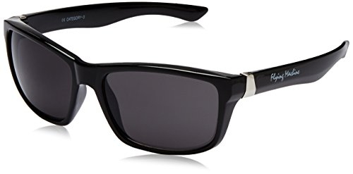 Flying Machine Wayfarer Sunglasses (Black) (FMS-025-104|62)  available at amazon for Rs.794