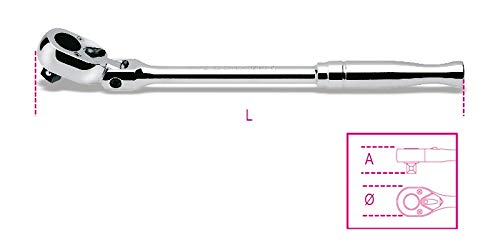 Box End Ratchet Wrench (Beta 9200894 920 M/56-1/2 Reversible Swivel Ratchet)