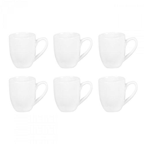 Flirt by R&B 078756 \'Bianco\' Espresso-Obere, Tasse, 80ml, weiß (6er Pack)