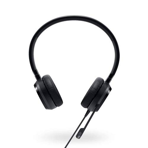 Dell uc350Head-Band Binaural Wired Black Mobile Headset-Mobile Headsets (Binaural, Head-Band, Black, Digital, in-line Control, Wired)