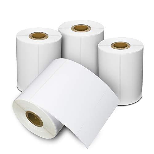 Thermo-Etiketten für DYMO Labelwriter 4XL, XL, 10,2 x 15,2 cm, 250 Stück 4 rolls