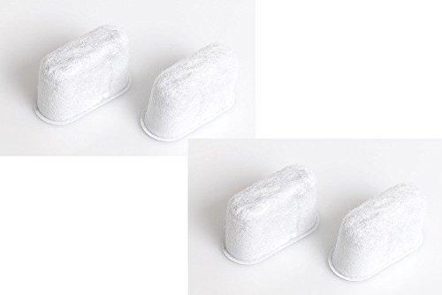 4x DeLonghi Wasserfilter, Aktivkohlefilter, Kalkfilter, Filter für Kaffeemaschine BCO410 - 5513214241