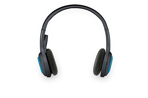 H600 Cuffia Wireless per PC, con Microfono Ripiegabile, Nero