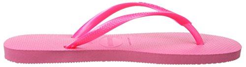 Havaianas Slim, Tongs Fille Rose (Pink 0703)