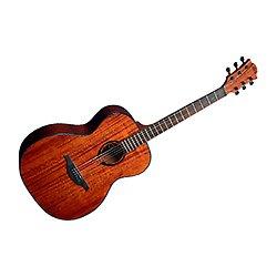 Lag Tramontana glat90a Auditorium Guitarra acústica, color caoba