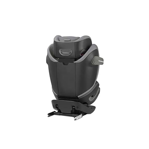 cybex Gold Pallas S-Fix Car Seat, Group 1/2/3, Manhattan Grey  Group 1/2/3 combination car seat. suitable from 9 - 36kg. designed to be used until a maximum height of 150cm, approximately 12 years. The optimized impact shield of the pallas s-fix reduces the risk of serious neck injuries without confining the child. shield suitable until 18kg. The integrated lisp. system offers increased safety in the event of a side-impact collision by reducing the forces by approximately 25%. 2