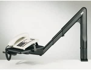 Multiform Telefon Schwenkarm Schwarz Bürobedarf Schreibwaren