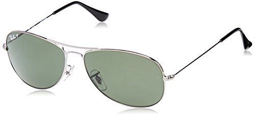 Ray Ban Sonnenbrille Metalllic silber 58/59