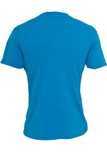 URBAN CLASSICS Slub Pocket Tee, turquoise Turquoise