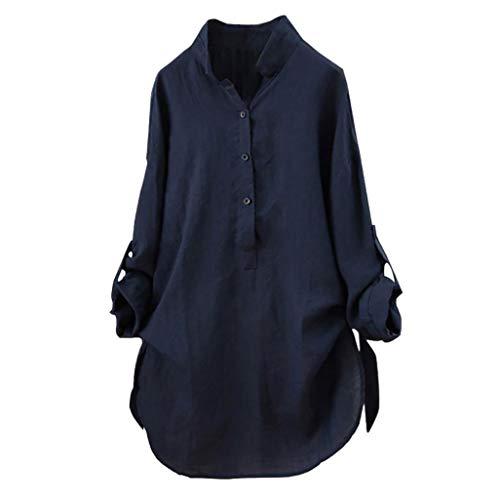 Lenfesh Camisetas Mujer Otoño Invierno Hombro Blusa