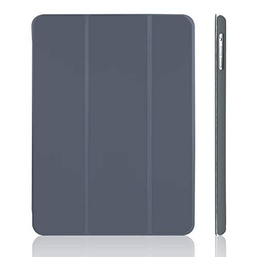 JETech Hülle für Apple iPad Air (2013 Modell), Schutzhülle mit Ständer Funktion und Auto Schlaf/Wachen, Rot (Ipad Rot 2 Case Apple Smart)