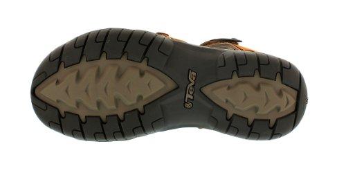 Teva Tirra Leather W's Damen Sport- & Outdoor Sandalen Braun (rust 664)