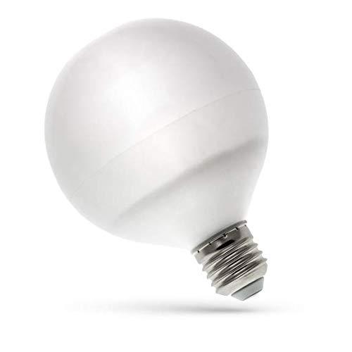 Spectrum Klar Bad (LED Globe Birne E27 13 Watt 1050 Lumen kaltweiß)
