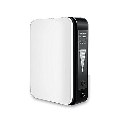 Portable Oxygen Generator Home Oxygen Machine 1L/Min Oxygen Bar Ntelligent Control Safety Output Atomization Machine Travel air Purifier