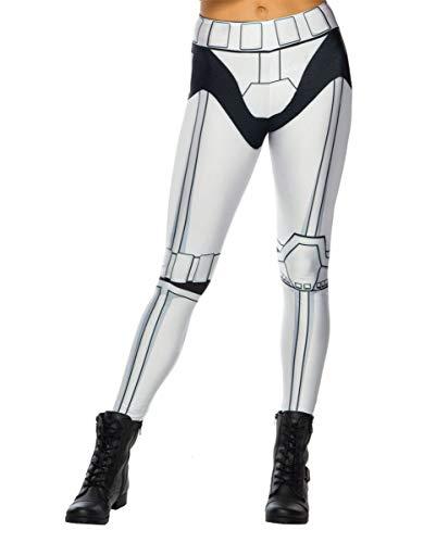 Horror-Shop Stormtrooper Leggings für Fasching & Conventions