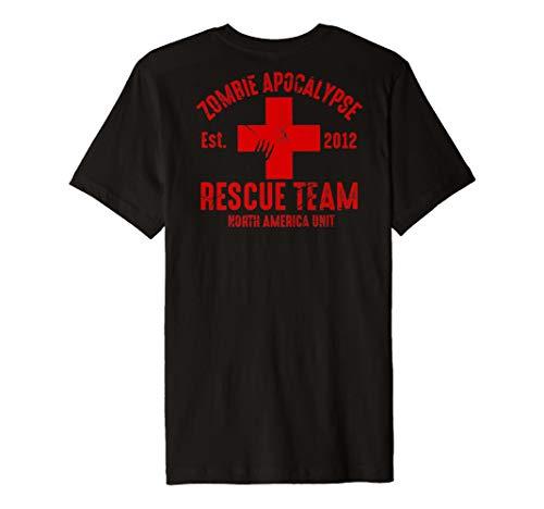 Zombie Apocalypse Survival Team T Shirt -